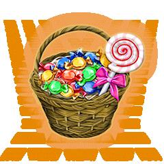 キャンディバスケット